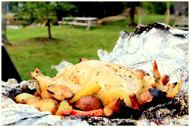 מטפונה - עוף שלם בתנור