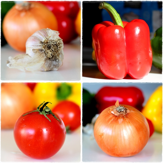 veggies together