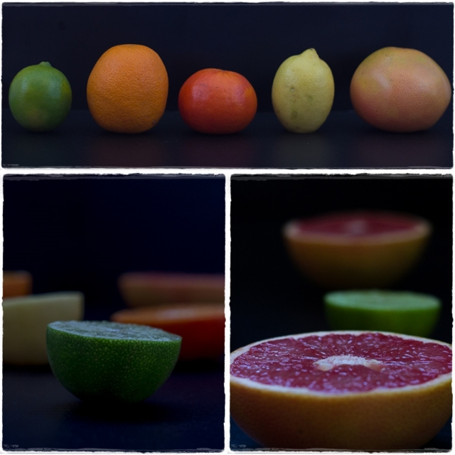 CItrus whole and cut
