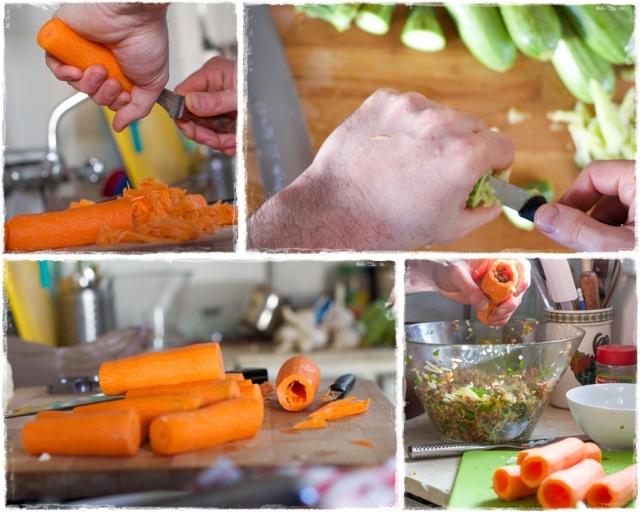 Carrot zukini