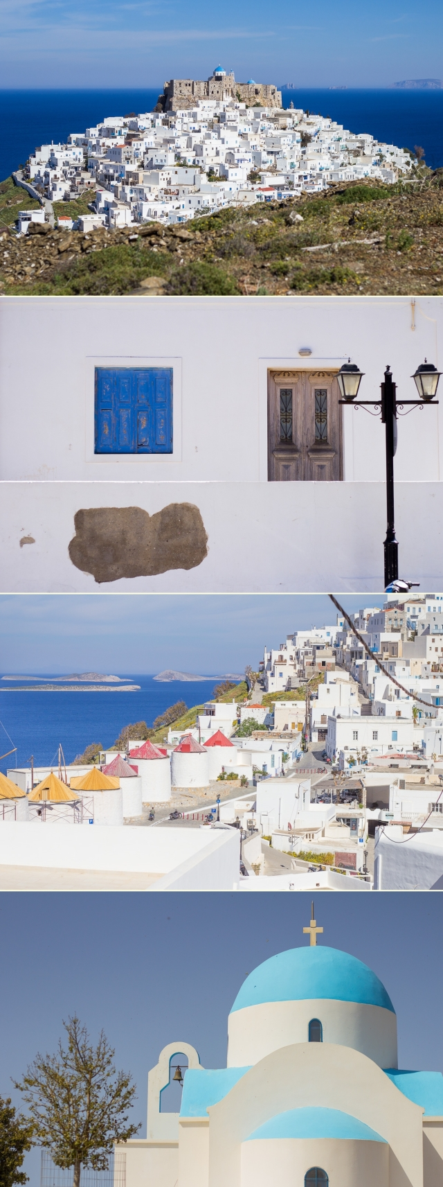 Greece in white
