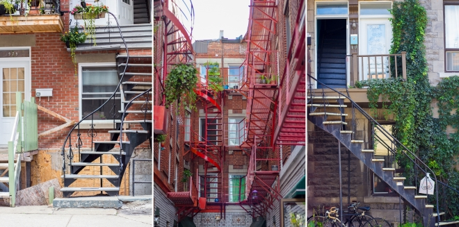 Stairs Montreal